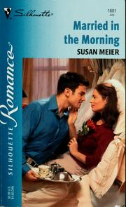 Cover of: Married in the morning | Susan Meier