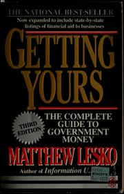 Cover of: Getting yours