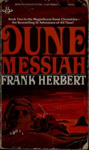 Cover of: Dune messiah | Frank Herbert