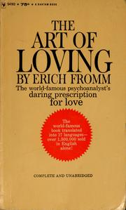 Cover of: The art of loving