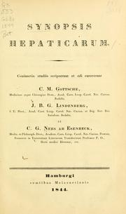 Cover of: Synopsis hepaticarum