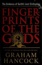 Cover of: Fingerprints of the gods