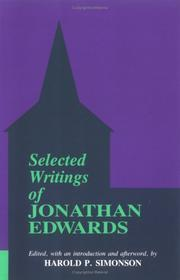 Cover of: Selected Writings of Jonathan Edwards | Jonathan Edwards