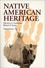 Cover of: Native American heritage