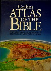 Cover of: Collins Atlas of the Bible by