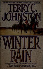 Cover of: Winter rain
