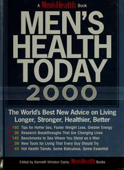 Cover of: Men's health today 2000