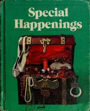 Cover of: Special happenings | Eldonna L. Evertts