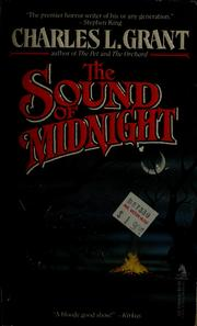 Cover of: The sound of midnight | Charles L. Grant