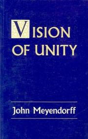 Cover of: The vision of unity