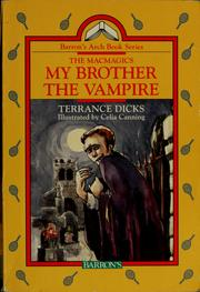 Cover of: My brother the vampire | Terrance Dicks