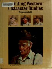 Painting western character studies by Joseph Dawley