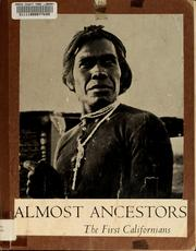 Cover of: Almost ancestors