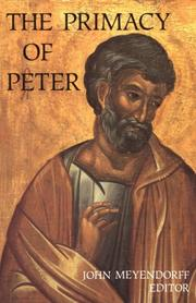 Cover of: The Primacy of Peter