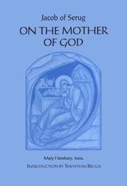 Cover of: On the Mother of God
