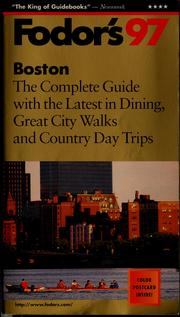 Cover of: Fodor's 97 Boston by
