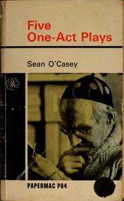 Cover of: Five one-act plays