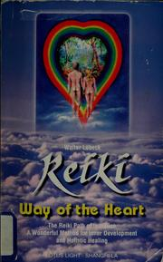 Cover of: Reiki | Walter LГјbeck
