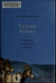 Cover of: Eating stone