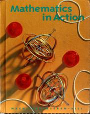 Cover of: Mathematics in action | Audrey L. Jackson