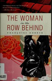 Cover of: The woman in the row behind