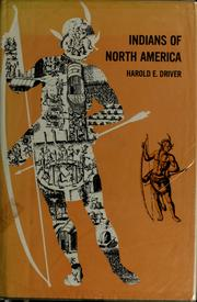Cover of: Indians of North America | Harold E. Driver