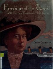 Cover of: Heroine of the Titanic