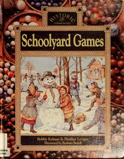 Cover of: Schoolyard games