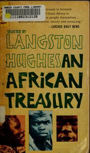 Cover of: An African treasury