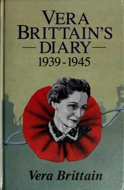 Cover of: Diary 1939-1945, wartime chronicle