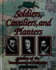 Cover of: Soldiers, cavaliers, and planters