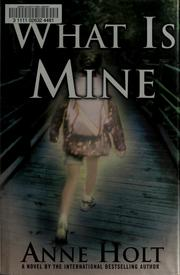 Cover of: What is mine