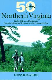 Cover of: 50 hikes in Northern Virginia