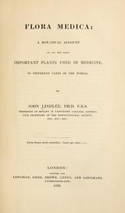 Cover of: Flora medica | John Lindley