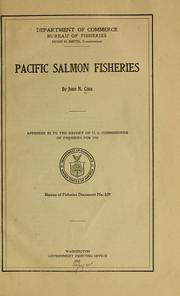 Cover of: Pacific salmon fisheries