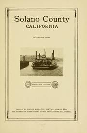 Cover of: Solano County, California