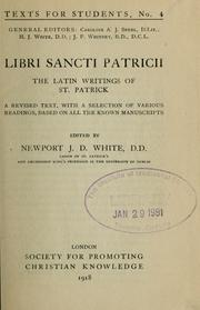 Cover of: Libri Sancti Patricii