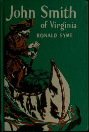 Cover of: John Smith of Virginia | Ronald Syme