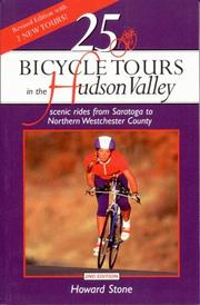Cover of: 25 bicycle tours in the Hudson Valley