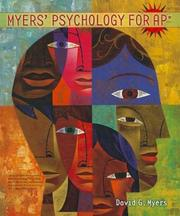Cover of: Myers Psychology for AP