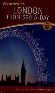 Cover of: Frommer's London from $90 a day