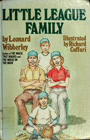 Cover of: Little League family | Leonard Wibberley