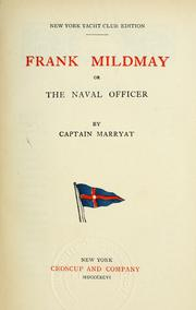 Cover of: Frank Mildmay