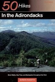 Cover of: 50 hikes in the Adirondacks | Barbara McMartin