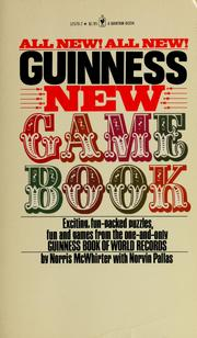 Cover of: Guinness new game book