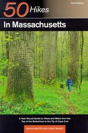 Cover of: 50 hikes in Massachusetts
