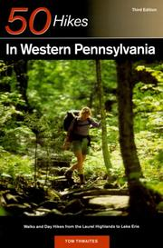 Cover of: 50 hikes in western Pennsylvania
