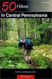 Cover of: 50 hikes in central Pennsylvania