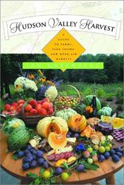 Cover of: Hudson Valley Harvest