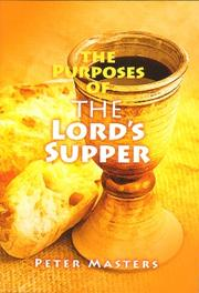 Cover of: The Purposes of the Lord